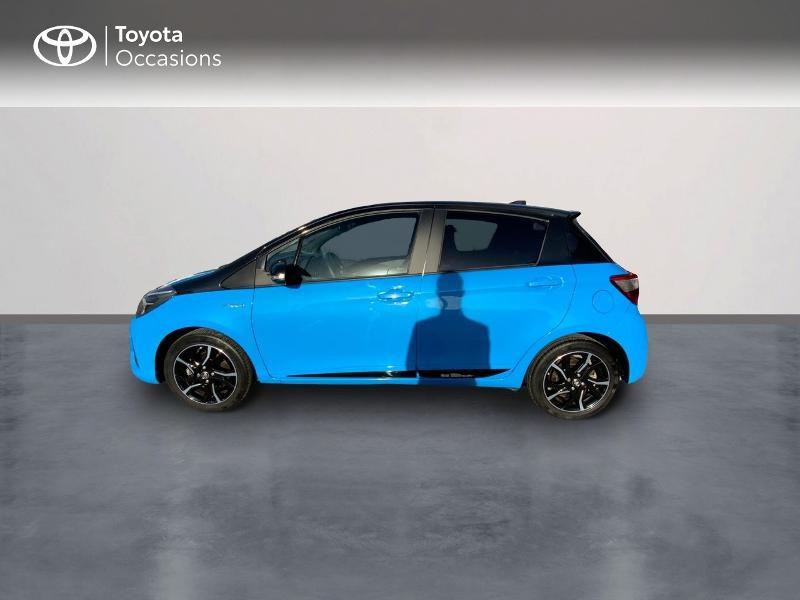 Toyota Yaris 100h Cyan Edition 5p RC18 Bleu occasion à Pluneret - photo n°3