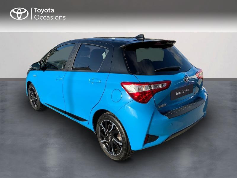 Toyota Yaris 100h Cyan Edition 5p RC18 Bleu occasion à Pluneret - photo n°2