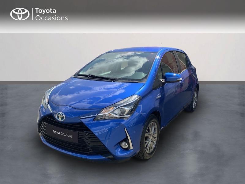Toyota Yaris 100h Dynamic 5p MY19 Bleu occasion à Pluneret