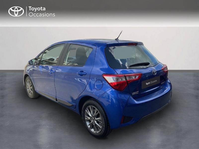 Toyota Yaris 100h Dynamic 5p MY19 Bleu occasion à Pluneret - photo n°2