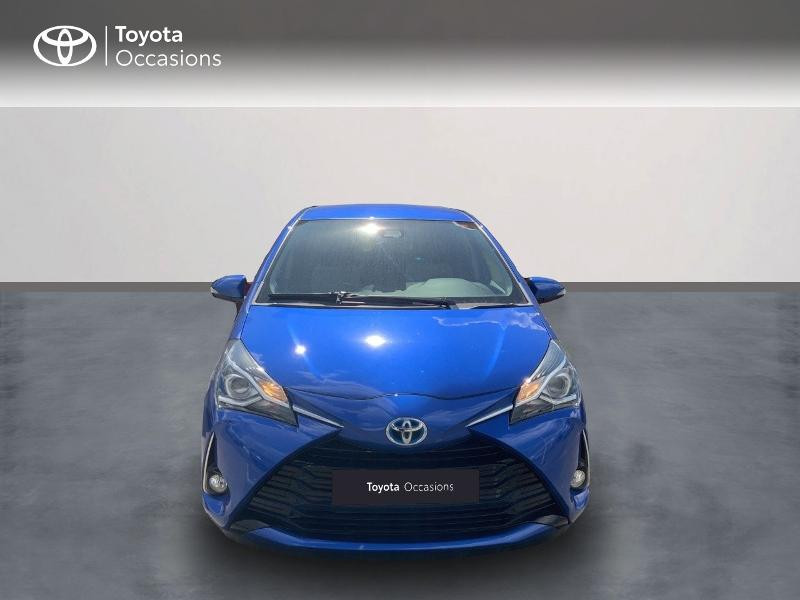 Toyota Yaris 100h Dynamic 5p MY19 Bleu occasion à Pluneret - photo n°5