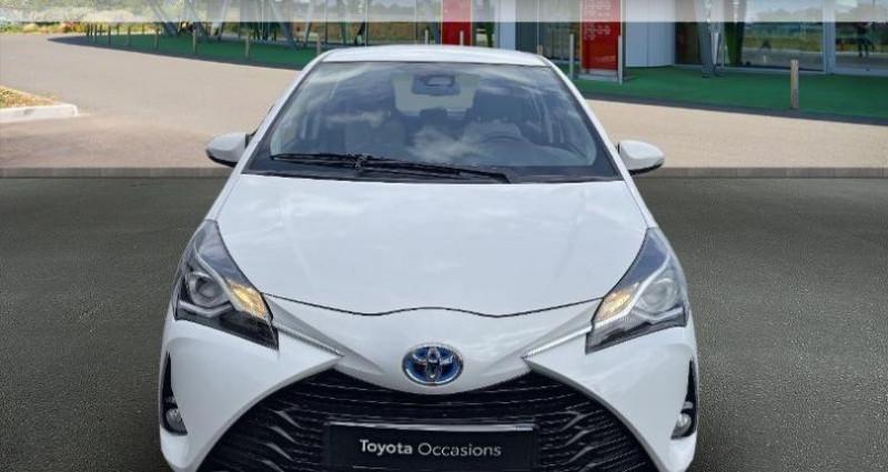 Toyota Yaris 100h Dynamic 5p RC18 Blanc occasion à Hoenheim - photo n°5