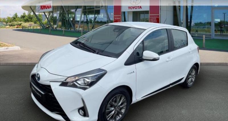 Toyota Yaris 100h Dynamic 5p RC18 Blanc occasion à Hoenheim