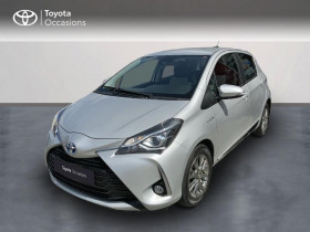 Toyota Yaris occasion 2018 mise en vente à Pluneret par le garage Toyota Altis Auray - photo n°1