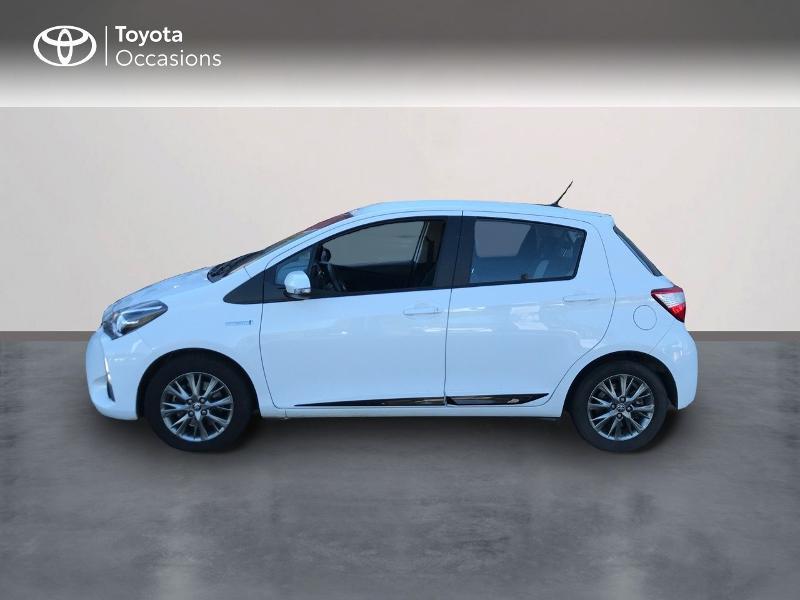 Toyota Yaris 100h Dynamic 5p Blanc occasion à Albi - photo n°3