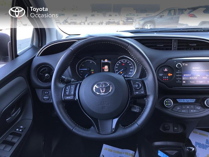 Toyota Yaris 100h Dynamic 5p Blanc occasion à Albi - photo n°6