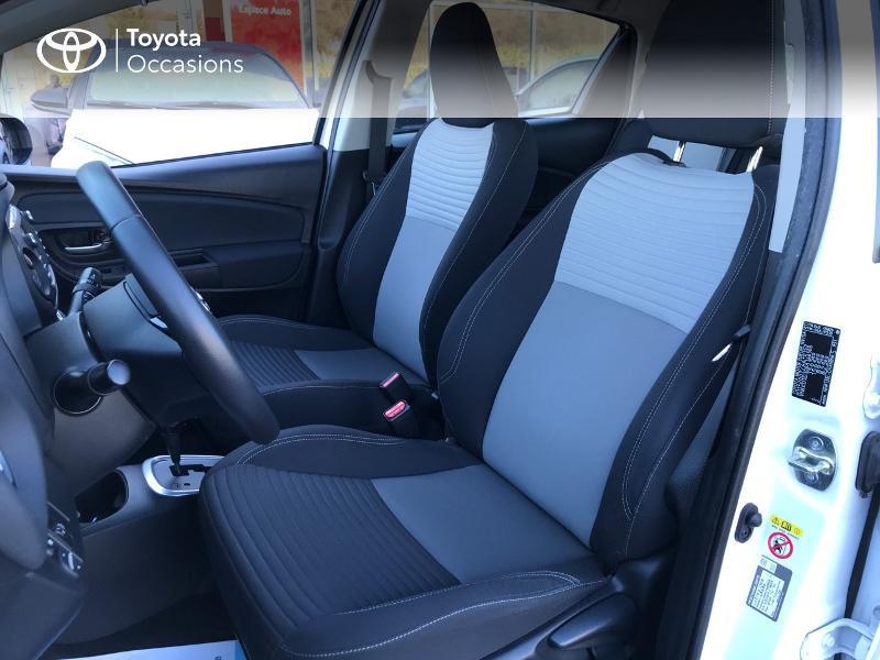 Toyota Yaris 100h Dynamic 5p Blanc occasion à Albi - photo n°13