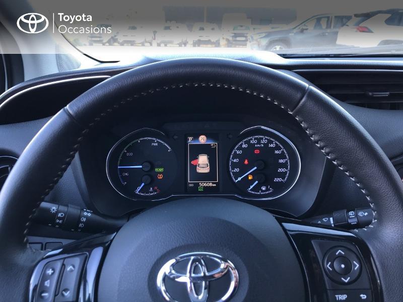 Toyota Yaris 100h Dynamic 5p Blanc occasion à Albi - photo n°8