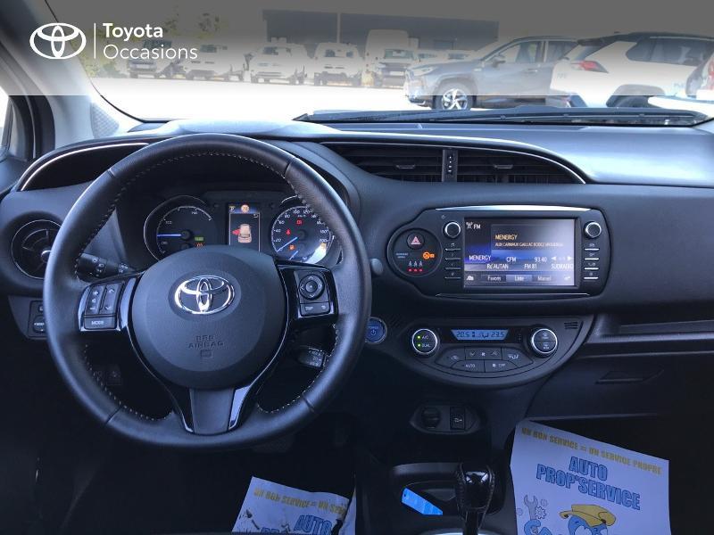 Toyota Yaris 100h Dynamic 5p Blanc occasion à Albi - photo n°5