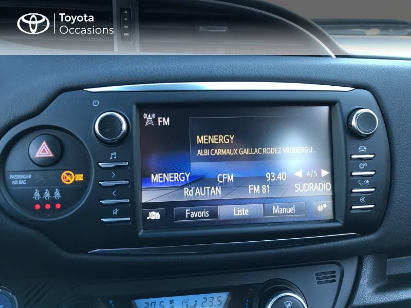 Toyota Yaris 100h Dynamic 5p Blanc occasion à Albi - photo n°7