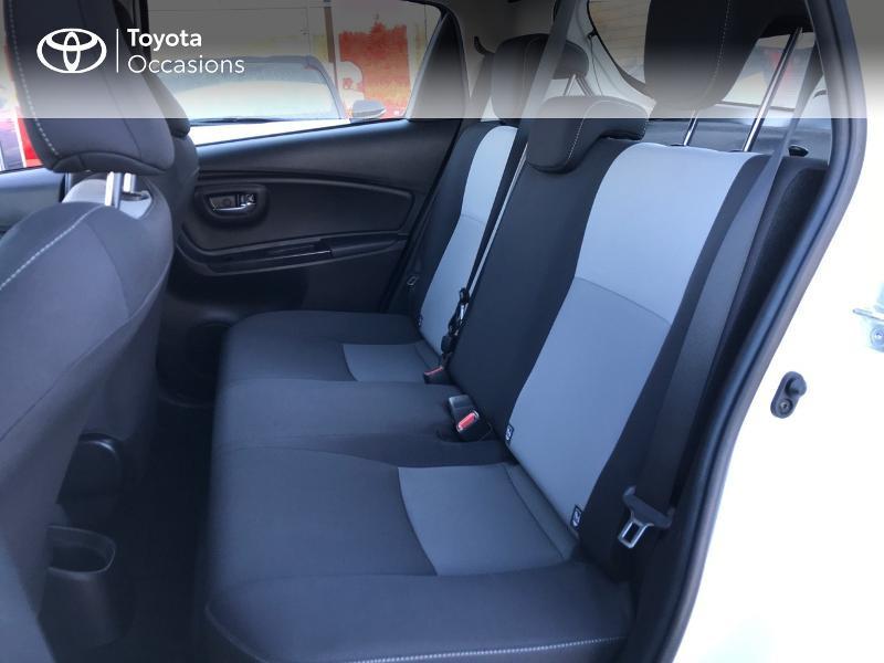 Toyota Yaris 100h Dynamic 5p Blanc occasion à Albi - photo n°14