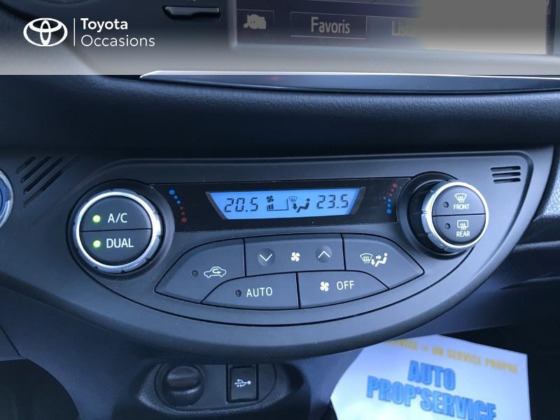 Toyota Yaris 100h Dynamic 5p Blanc occasion à Albi - photo n°11