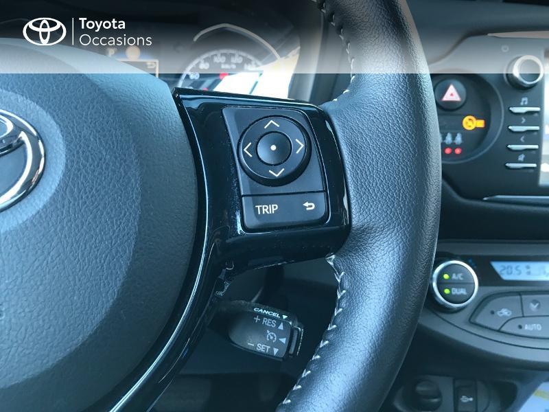 Toyota Yaris 100h Dynamic 5p Blanc occasion à Albi - photo n°10