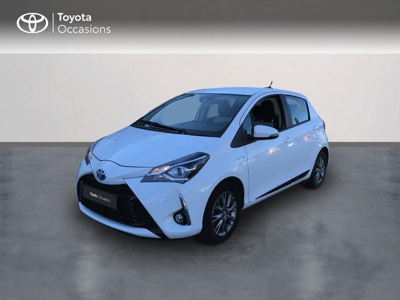 Toyota Yaris 100h Dynamic 5p Blanc occasion à Albi