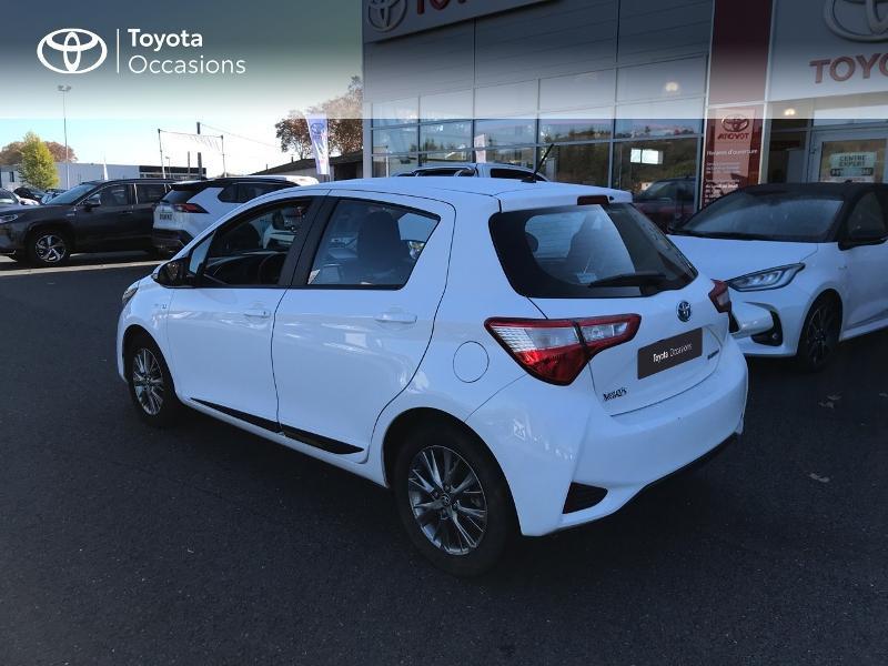 Toyota Yaris 100h Dynamic 5p Blanc occasion à Albi - photo n°17