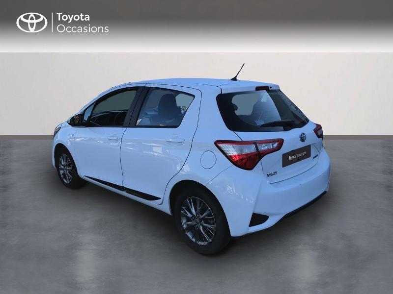 Toyota Yaris 100h Dynamic 5p Blanc occasion à Albi - photo n°2