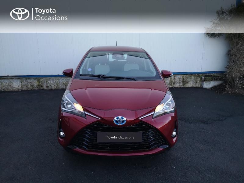 Toyota Yaris 100h Dynamic 5p Rouge occasion à Saint-Jouan-des-Guérets - photo n°5