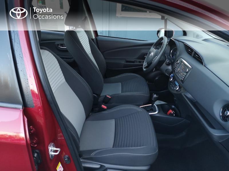 Toyota Yaris 100h Dynamic 5p Rouge occasion à Saint-Jouan-des-Guérets - photo n°6