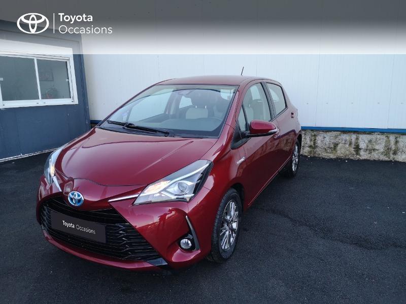Toyota Yaris 100h Dynamic 5p Rouge occasion à Saint-Jouan-des-Guérets