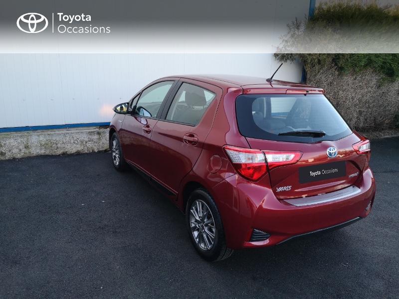 Toyota Yaris 100h Dynamic 5p Rouge occasion à Saint-Jouan-des-Guérets - photo n°2