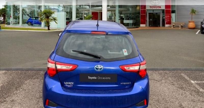 Toyota Yaris 100h France 5p RC18 Bleu occasion à Laxou - photo n°4