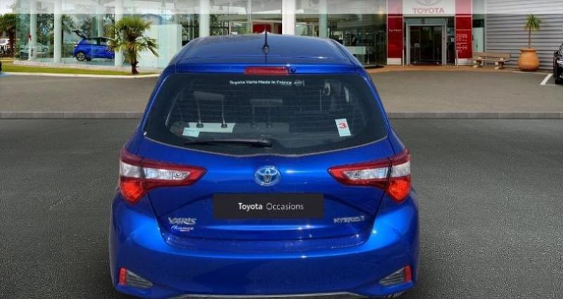 Toyota Yaris 100h France 5p Bleu occasion à Laxou - photo n°4