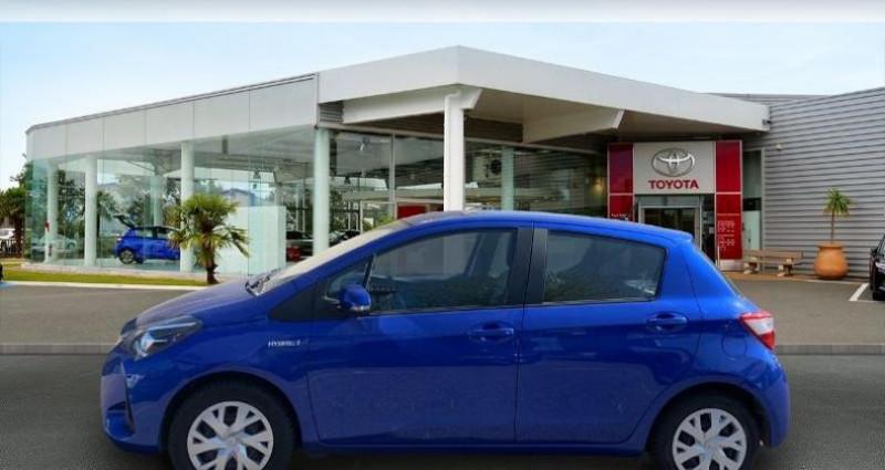 Toyota Yaris 100h France 5p Bleu occasion à Laxou - photo n°3