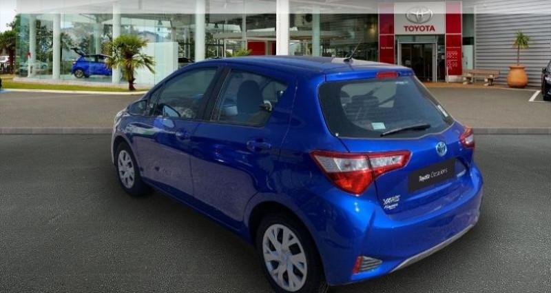 Toyota Yaris 100h France 5p Bleu occasion à Laxou - photo n°2