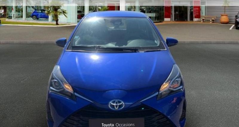 Toyota Yaris 100h France 5p Bleu occasion à Laxou - photo n°5