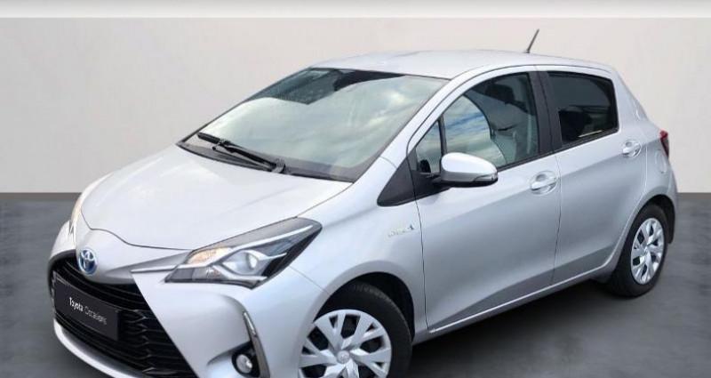 Toyota Yaris 100h France Business 5p Gris occasion à Colmar