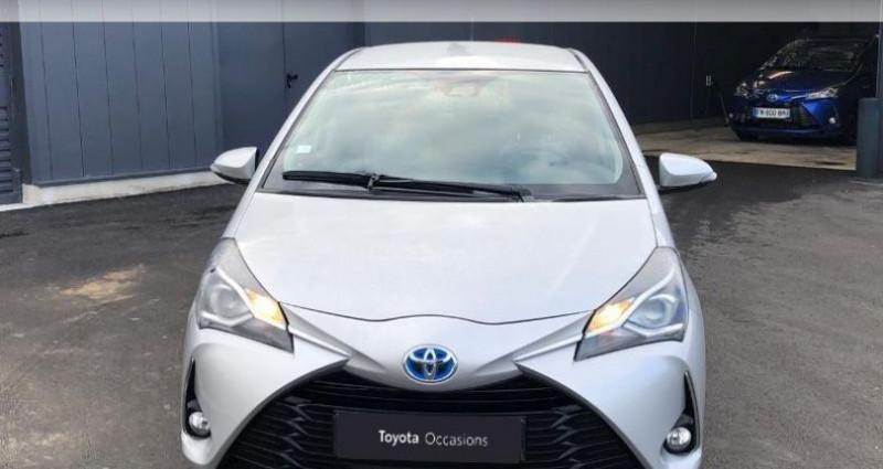 Toyota Yaris 100h France Business 5p Gris occasion à Colmar - photo n°5