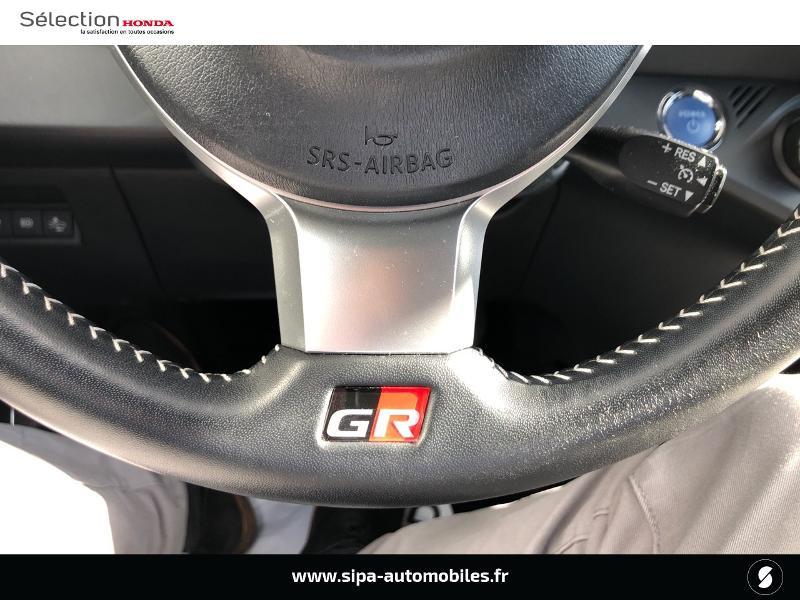 Toyota Yaris 100h GR SPORT 5p MY19 Blanc occasion à Le Bouscat - photo n°20