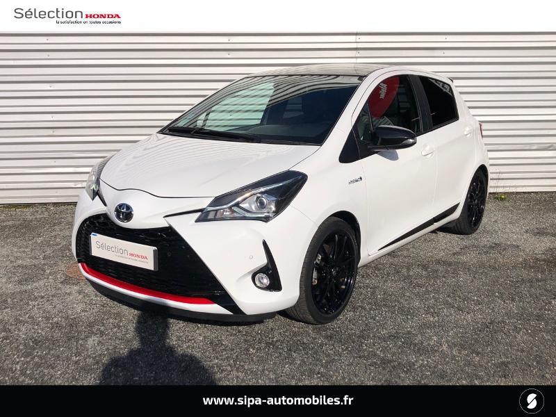 Toyota Yaris 100h GR SPORT 5p MY19 Blanc occasion à Le Bouscat
