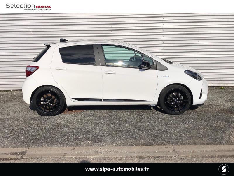 Toyota Yaris 100h GR SPORT 5p MY19 Blanc occasion à Le Bouscat - photo n°4