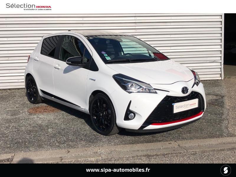 Toyota Yaris 100h GR SPORT 5p MY19 Blanc occasion à Le Bouscat - photo n°3