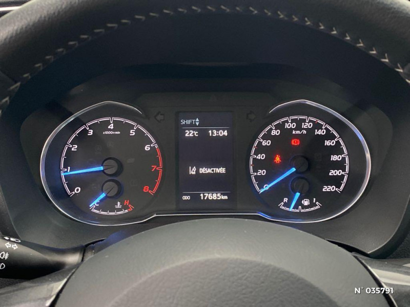 Toyota Yaris 110 VVT-i Design Y20 5p MY19 Noir occasion à Abbeville - photo n°12