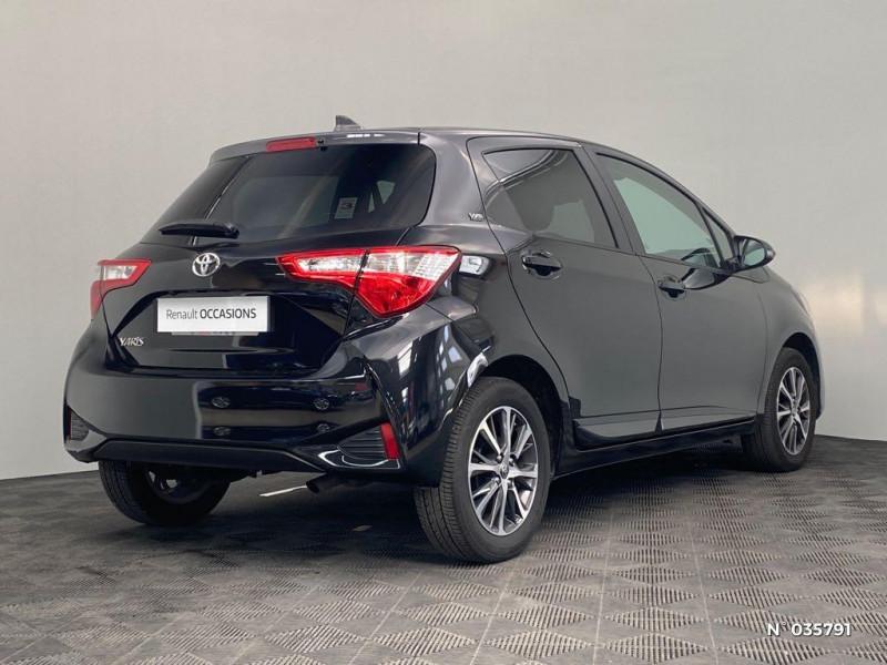 Toyota Yaris 110 VVT-i Design Y20 5p MY19 Noir occasion à Abbeville - photo n°6