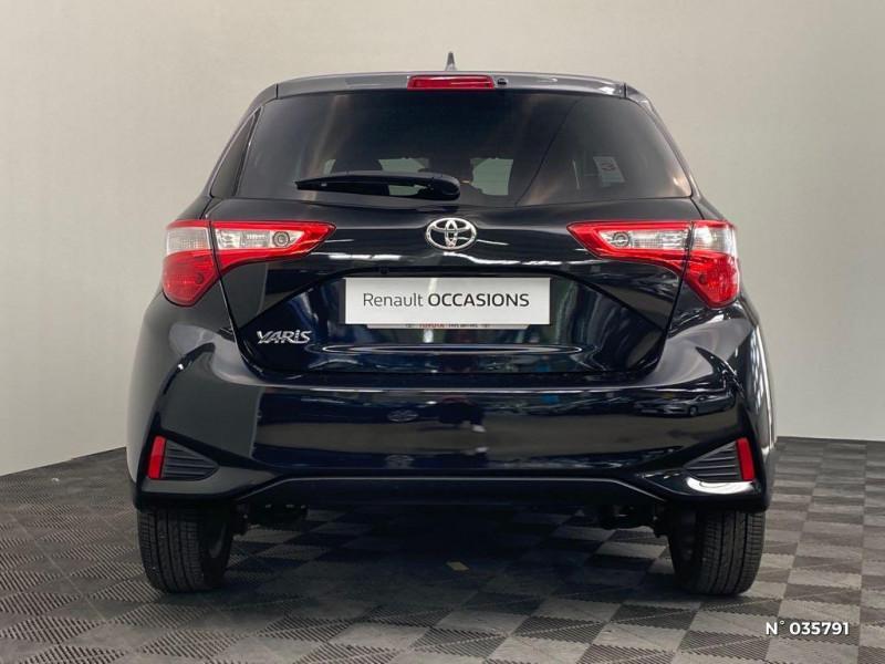 Toyota Yaris 110 VVT-i Design Y20 5p MY19 Noir occasion à Abbeville - photo n°3