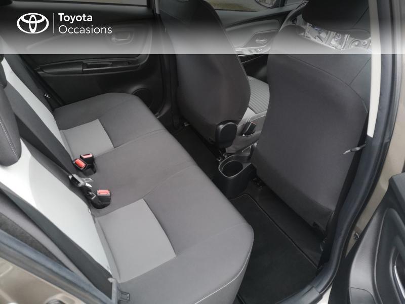 Toyota Yaris 110 VVT-i Dynamic 5p Gris occasion à Saint-Jouan-des-Guérets - photo n°7