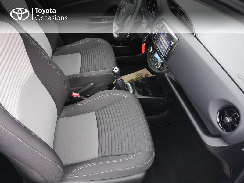 Toyota Yaris 110 VVT-i Dynamic 5p Gris occasion à Saint-Jouan-des-Guérets - photo n°6