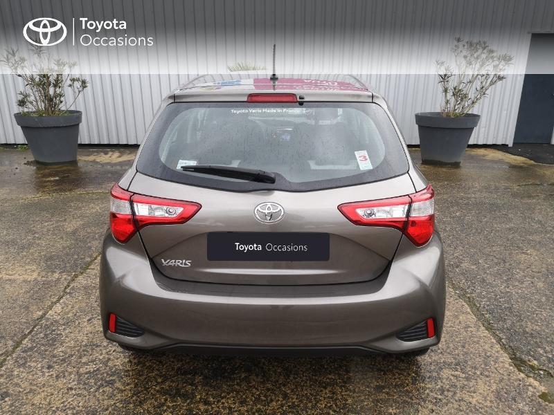 Toyota Yaris 110 VVT-i Dynamic 5p Gris occasion à Saint-Jouan-des-Guérets - photo n°4