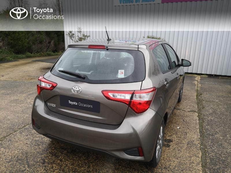 Toyota Yaris 110 VVT-i Dynamic 5p Gris occasion à Saint-Jouan-des-Guérets - photo n°2
