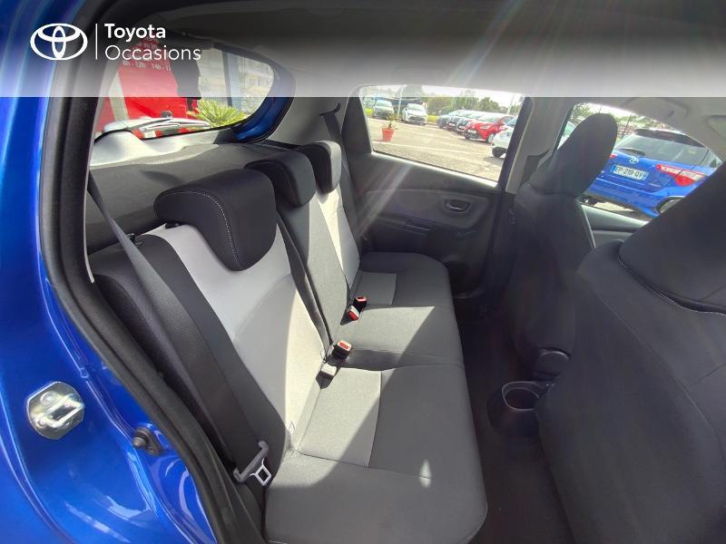 Toyota Yaris 110 VVT-i France Connect CVT 5p MY19  occasion à Pluneret - photo n°7