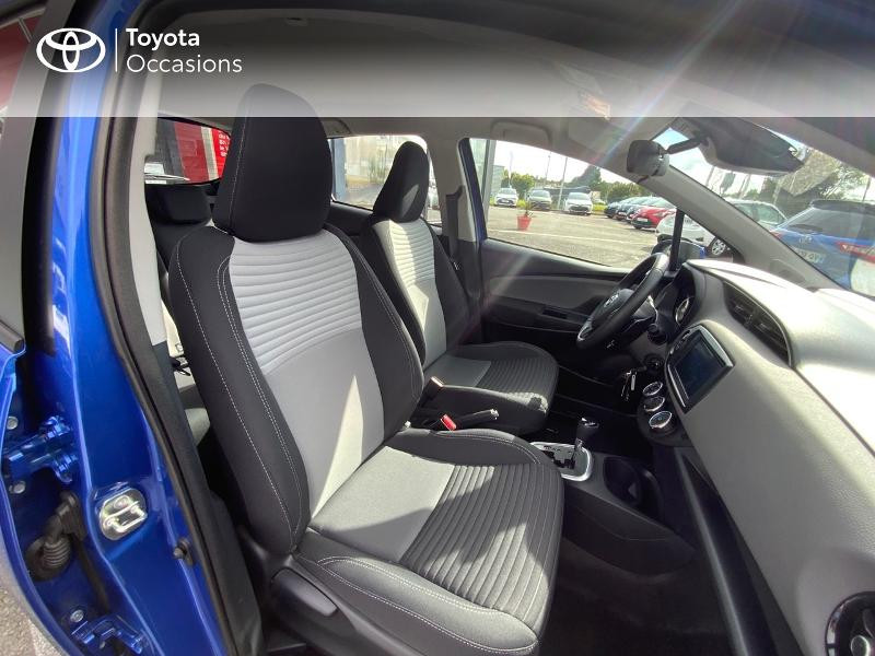 Toyota Yaris 110 VVT-i France Connect CVT 5p MY19  occasion à Pluneret - photo n°6