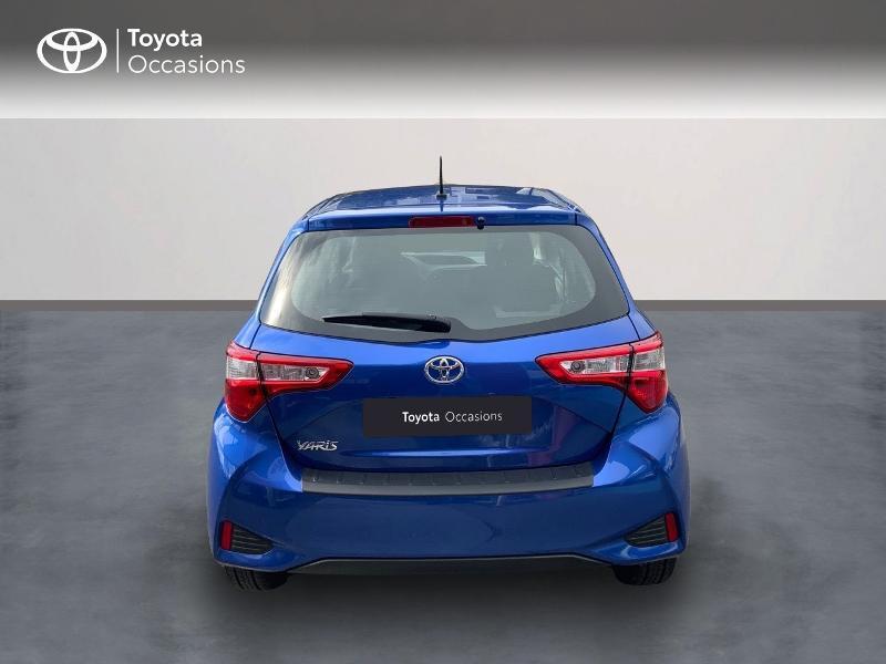 Toyota Yaris 110 VVT-i France Connect CVT 5p MY19  occasion à Pluneret - photo n°4