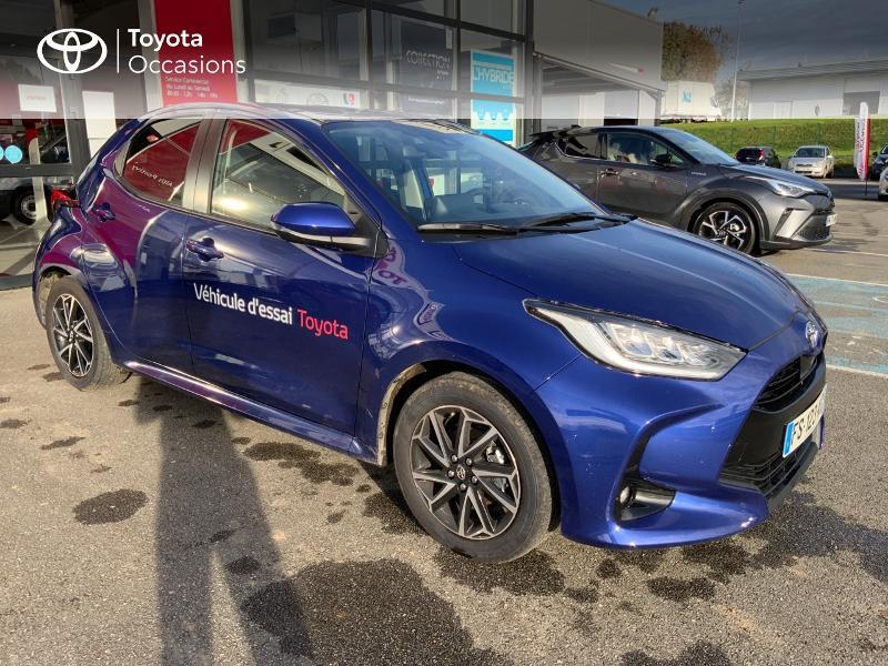 Toyota Yaris 120 VVT-i Design 5p Bleu occasion à NOYAL PONTIVY - photo n°19