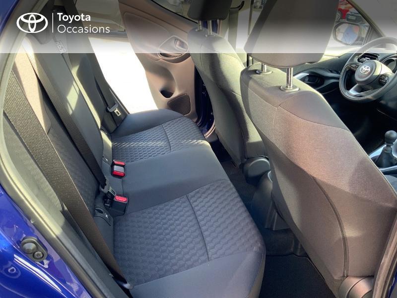 Toyota Yaris 120 VVT-i Design 5p Bleu occasion à NOYAL PONTIVY - photo n°7