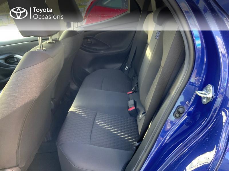 Toyota Yaris 120 VVT-i Design 5p Bleu occasion à NOYAL PONTIVY - photo n°12