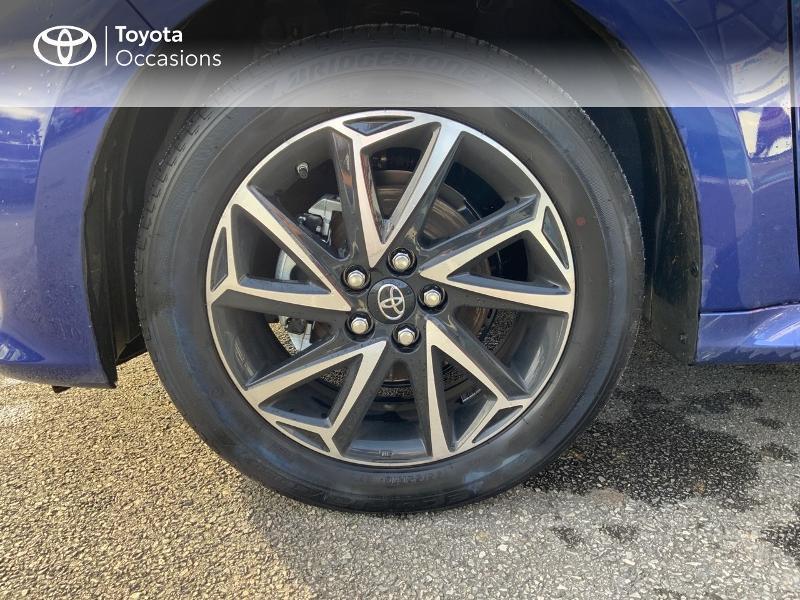 Toyota Yaris 120 VVT-i Design 5p Bleu occasion à NOYAL PONTIVY - photo n°16