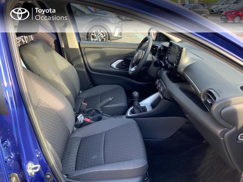Toyota Yaris 120 VVT-i Design 5p Bleu occasion à NOYAL PONTIVY - photo n°6